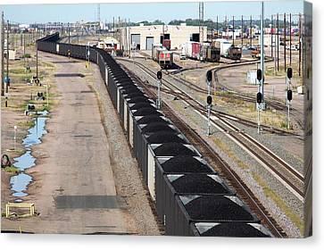 Coal Train Canvas Print by Jim West