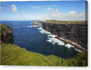 Coast Near Kilkee_ County Clare, Ireland Canvas Print