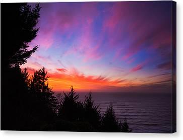 Darren Canvas Print - Coastal Skies by Darren  White