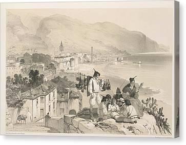 Seacoast Canvas Print - Coastal View by British Library