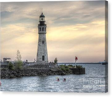 Coastguard Lighthouse Canvas Print by Darleen Stry