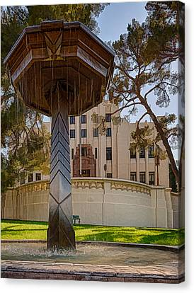 Canvas Print featuring the photograph Cochise County Courthouse by Beverly Parks