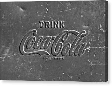 Coke Sign Canvas Print by Jill Reger
