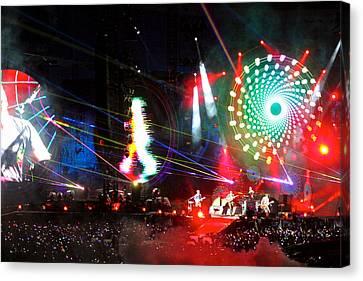 Coldplay - Sydney 2012 Canvas Print