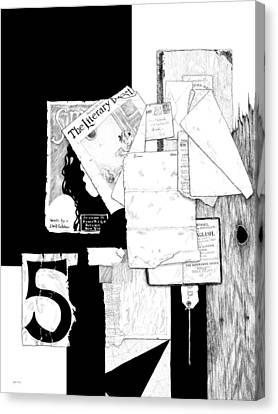 Collage #5 Canvas Print