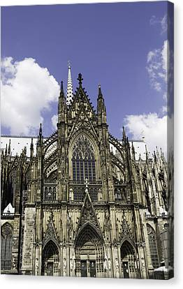 Cologne Cathedral 38 Canvas Print by Teresa Mucha