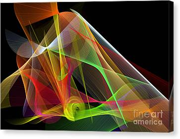 Color Symphony Canvas Print by Rafael Salazar