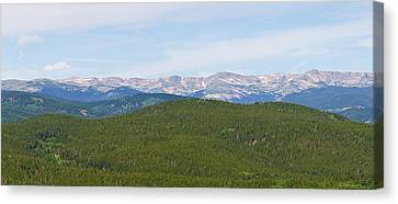 Colorado Continental Divide 5 Part Panorama 1  Canvas Print by James BO  Insogna