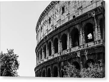 Colosseum - Rome Italy Canvas Print