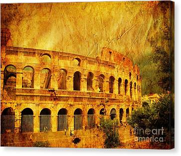 Colosseum Canvas Print by Stefano Senise