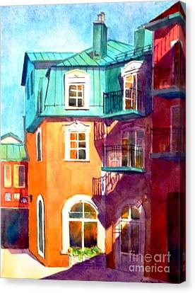 Colourful Tremblaunt Canvas Print