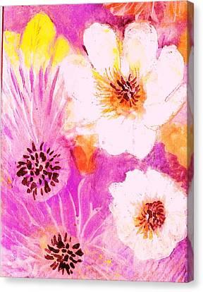 Come Spring Canvas Print by Anne-Elizabeth Whiteway