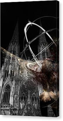 Confession Canvas Print by David Fox