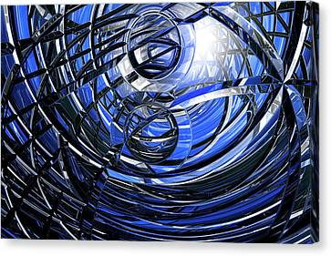 Connections Canvas Print by Carol & Mike Werner