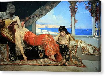 Constant's The Favorite Of The Emir Canvas Print by Cora Wandel