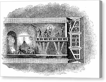 Take-out Canvas Print - Construction Of Thames Tunnel by Universal History Archive/uig