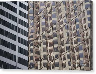 Canvas Print featuring the photograph Convergence  by Lynn England