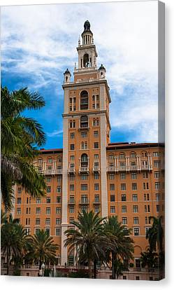 Coral Gables Biltmore Hotel Canvas Print by Ed Gleichman