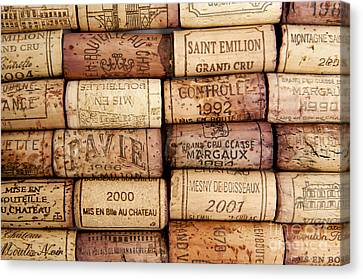 Corks Canvas Print by Bernard Jaubert