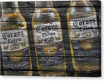 Corona Canvas Print - Corona Extra by Joe Hamilton