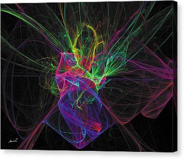 Cosmic Phantom Canvas Print