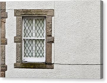 Cottage Window Canvas Print by Tom Gowanlock