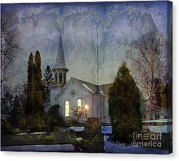 Country Church Canvas Print by Jim Wright