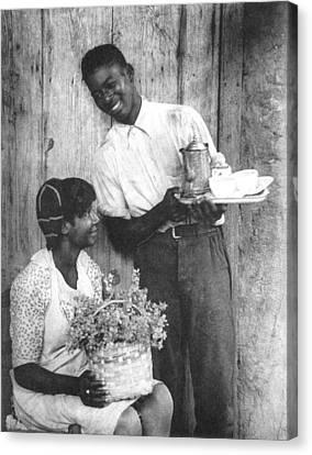 Couple, C1925 Canvas Print by Granger