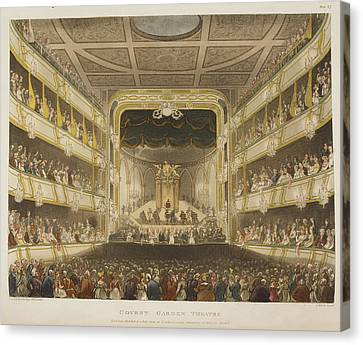 Covent Garden Theatre Canvas Print by British Library