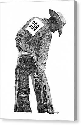Cowboy 1 Canvas Print