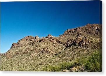 Cowboy Country Arizona 10 Canvas Print by Douglas Barnett