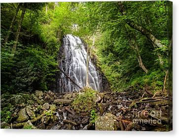 Crabtree Falls Canvas Print by Deborah Scannell
