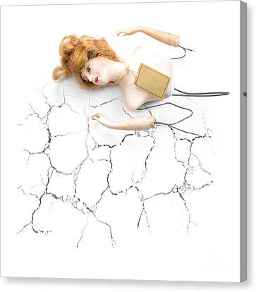 Melancholy Canvas Print - Cracked And Broken by Jorgo Photography - Wall Art Gallery
