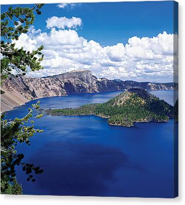 Crater Lake National Park Canvas Print - Crater Lake At Crater Lake National by Panoramic Images