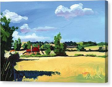 Crayke Farm North Yorkshire Canvas Print
