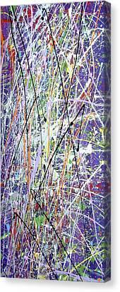 Crolic Canvas Print by Cyryn Fyrcyd