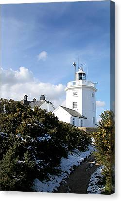 Cromer Lighthouse Canvas Print by Paul Lilley