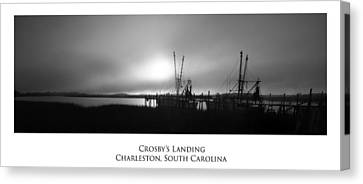 Crosby's Landing Canvas Print