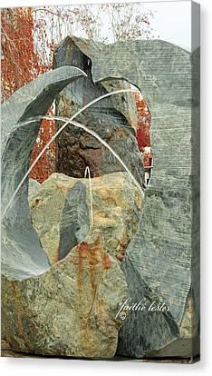 Crossing Paths II Canvas Print by E Faithe Lester