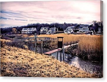Crossing The Eel River  Canvas Print