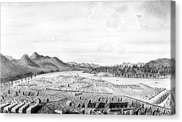 Crown Point, 1759 Canvas Print