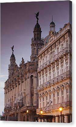 Habana Canvas Print - Cuba, Havana, Havana Vieja, Gran Teatro by Walter Bibikow