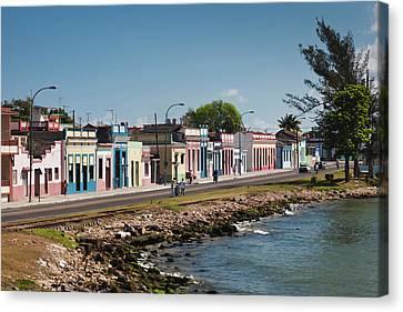 Cuba, Matanzas Province, Matanzas, Town Canvas Print