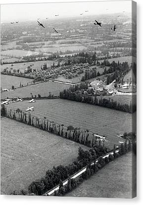D-day Landings Canvas Print