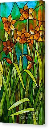 Daffodil Day Canvas Print by David Kennedy