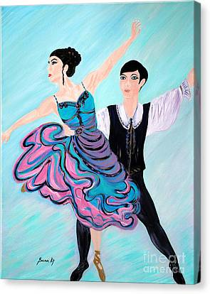 Dance. Inspirations Collection. Canvas Print