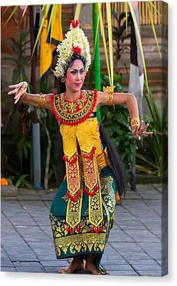 Dancer - Bali Canvas Print by Matthew Onheiber