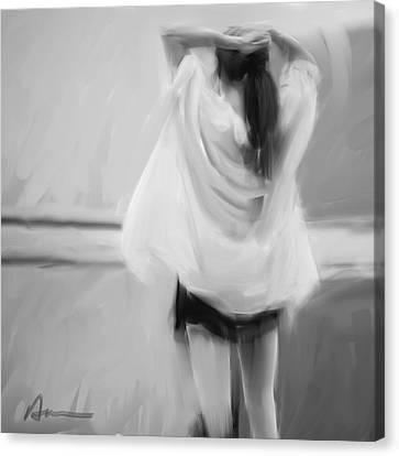 Dancer Canvas Print by H James Hoff