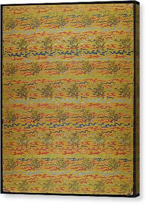 Daoist Folding Album Canvas Print
