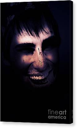 Dark Creepy And Spooky Undead Pirate Canvas Print by Jorgo Photography - Wall Art Gallery